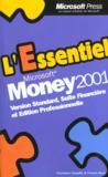 Money 2001. Version Standard, Suite Financière Et Édition Professionnelle