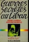 Guerres Secretes Au Liban