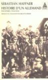 Histoire d'un allemand ; souvenirs (1914-1933)