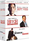 DVD &amp; Blu-ray - Sept Vies + Hitch, Expert En Sduction + A La Recherche Du Bonheur