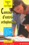 Concours D'Entree Orthophonistes