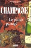 Champagne; Le Plaisir Partage