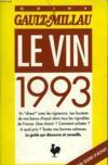 Le vin 1993