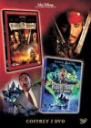 DVD &amp; Blu-ray - Pirates Des Carabes, La Maldiction Du Black Pearl + Le Manoir Hant Et Les 999 Fantmes