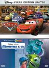 DVD &amp; Blu-ray - Cars + Monstres &amp; Cie