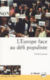 Iad - L'Europe Face Au Defi Populiste