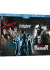 DVD & Blu-ray - The Spirit + Hellboy + The Punisher, Zone De Guerre
