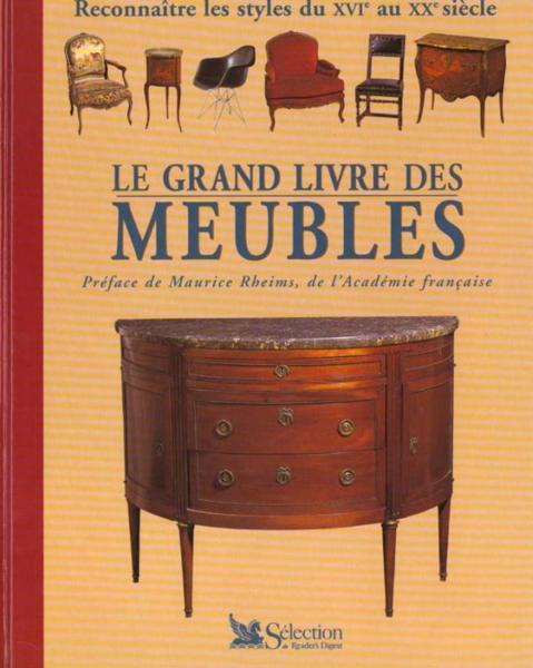 Livre le grand livre des meubles francis rousseau for Acheter des meubles