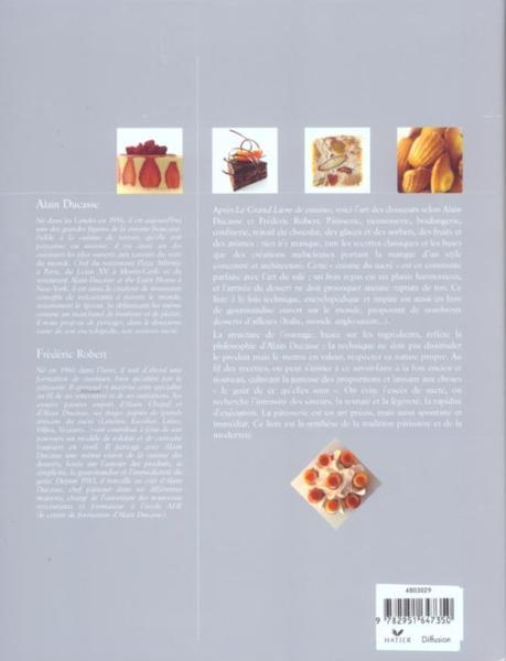 Livre grand livre de cuisine d 39 alain ducasse desserts for Alain ducasse grand livre de cuisine