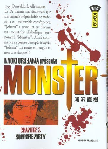 Monster t.2 ; surprise party  - Naoki Urasawa