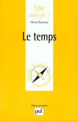 Le Temps  - Hervé Barreau