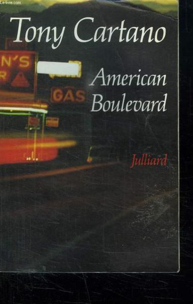 American Boulevard  - Tony Cartano