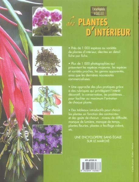 Livre plantes d interieur odile koenig for Encyclopedie plantes interieur