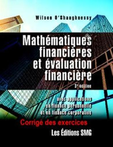 mathematique financiere exercice corrige pdf