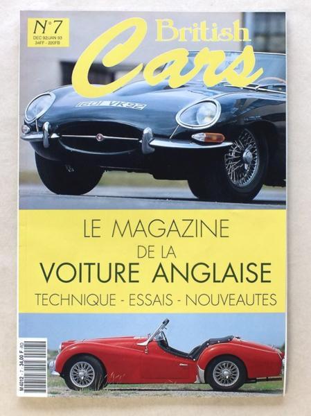 livre british cars le magazine de la voiture anglaise. Black Bedroom Furniture Sets. Home Design Ideas