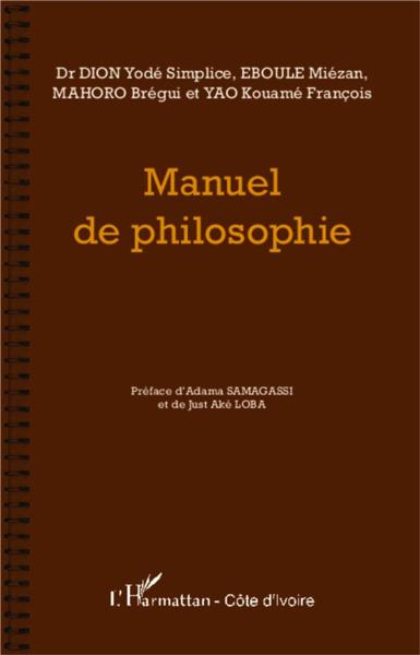 Manuel de philosophie  - Collectif