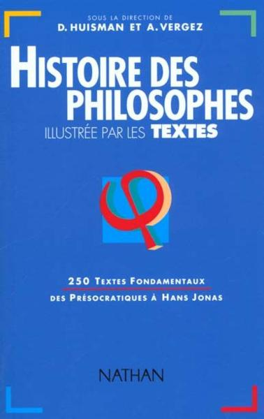 Hist philosop illustree textes  - Collectif  - Denis Huisman