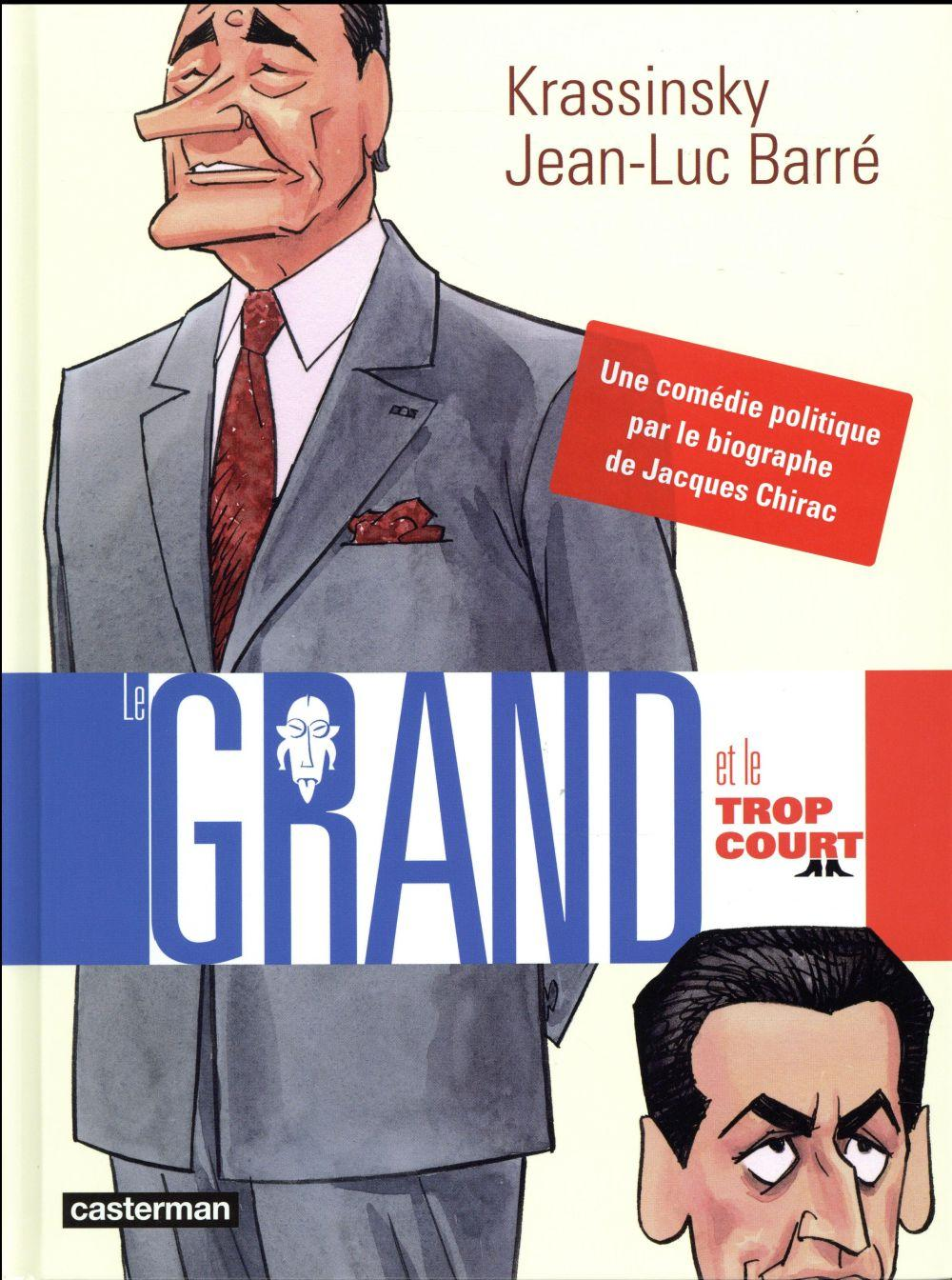 Le grand et le trop court  - Jean-Luc Barre  - Jean-Paul Krassinsky