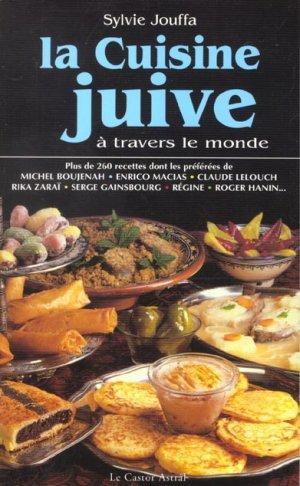 Livre la cuisine juive a travers le monde sylvie jouffa for Cuisine juive