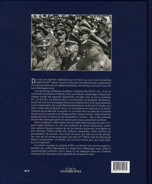 Livres > au service du troisième reich ; les coiffes militaires et
