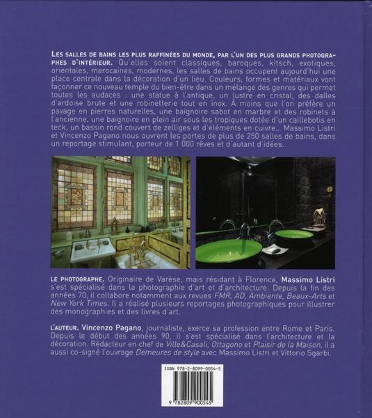 Livre  Les plus belles salles de bains du monde ; luxe et