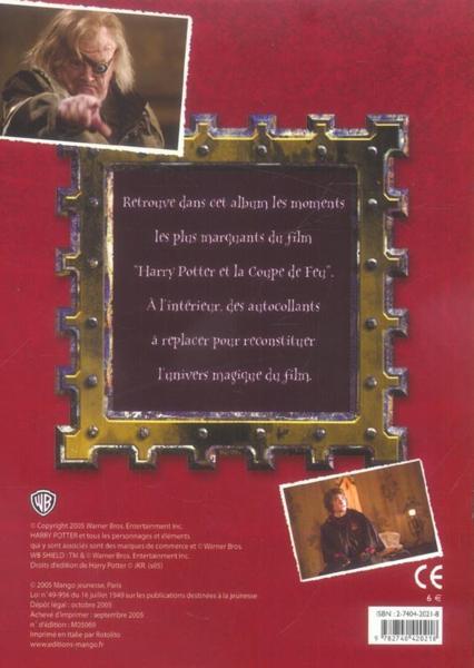 Livre harry potter et la coupe de feu le tournoi des - Film harry potter et la coupe de feu ...