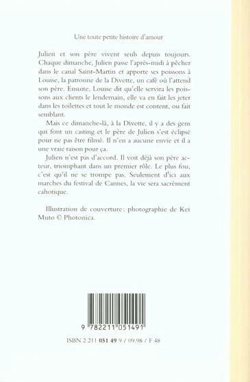 livre une toute petite histoire d amour christophe honor acheter occasion 23 10 1998. Black Bedroom Furniture Sets. Home Design Ideas