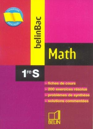 Belinbac math 1re s  - Garnier/Pin