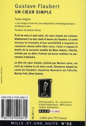 Un coeur simple : trois contes Gustave Flaubert Mon panier