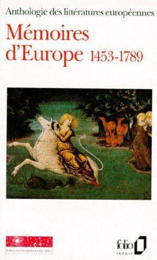 Mémoires d'Europe t.1 ; 1453-1789  - Collectif Gallimard  - Collectifs Gallimard