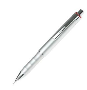 Porte mine 0 5 mm rotring esprit argent for Porte mine 0 3 mm
