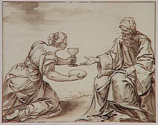 Aainsi parle le Seigneur, Dieu d'Israël : Jarre de farine point ne s'épuisera, vase d'huile point ne se videra, jusqu'au jour où le Seigneur donnera la pluie pour arroser la terre.