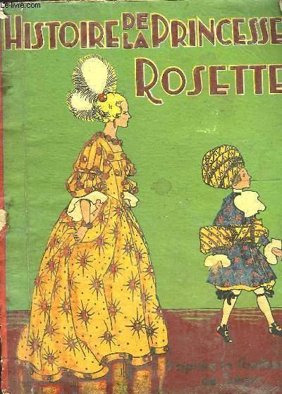 livre histoire de la princesse rosette segur comtesse de acheter occasion 1941. Black Bedroom Furniture Sets. Home Design Ideas