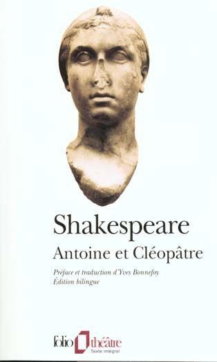 Antoine Et Cleopatre  - William Shakespeare