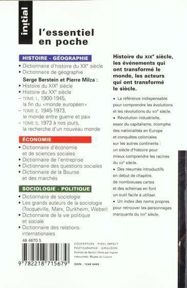 Dissertation Histoire Xixe Siecle Seconde