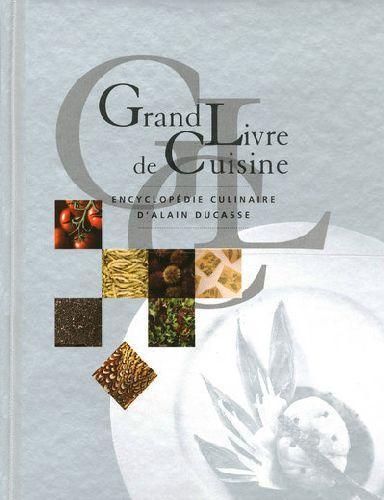 Mobilier table grand livre de cuisine alain ducasse - Livre de cuisine grand chef ...