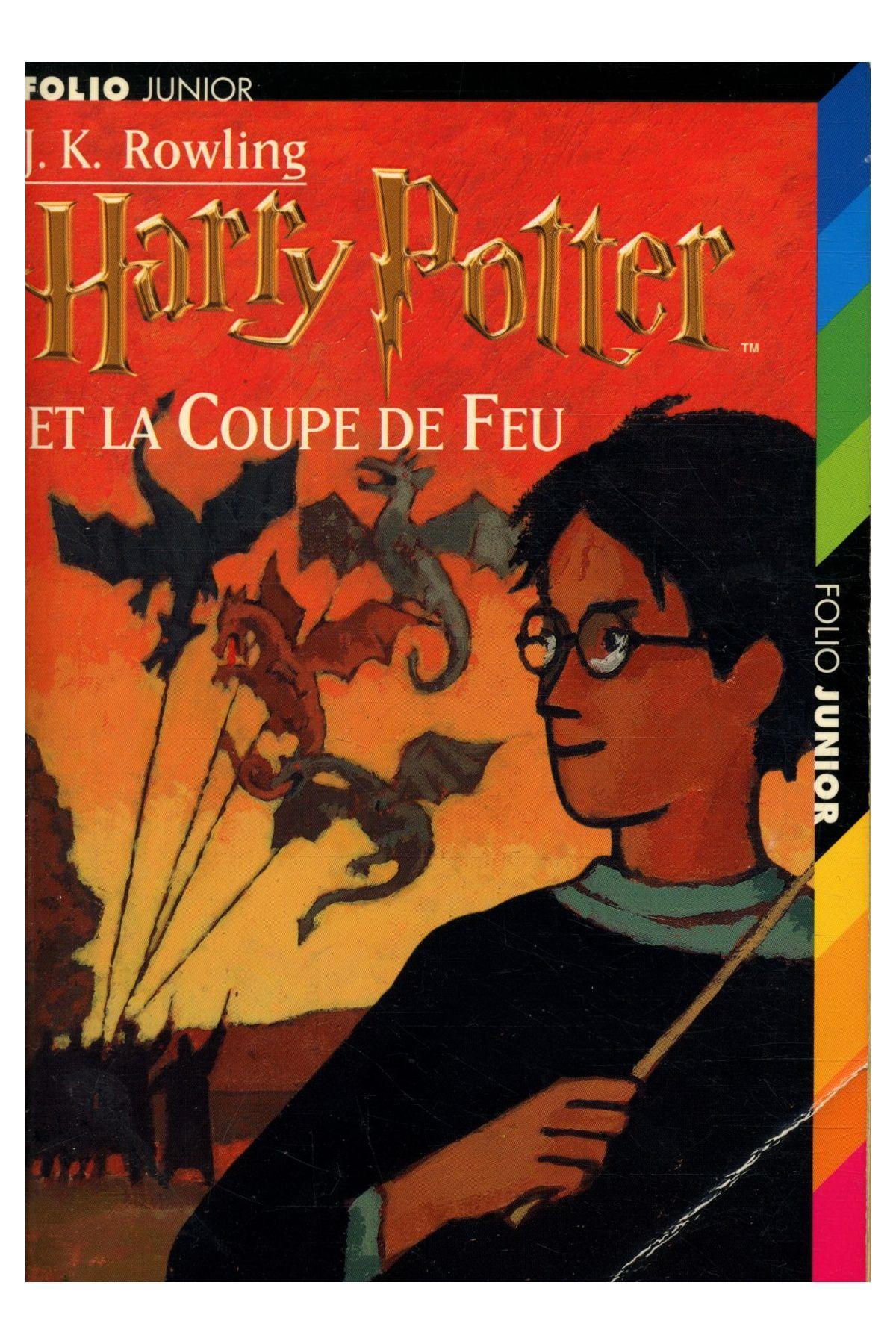 Livre harry potter t 4 harry potter et la coupe de feu joanne kathleen rowling - Harry potter et la coupe de feu livre en ligne ...