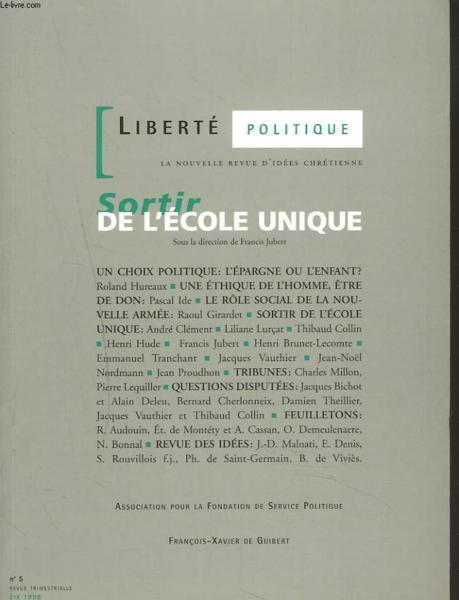 Sortir De L'Ecole Unique  - Jubert-F+Collectif