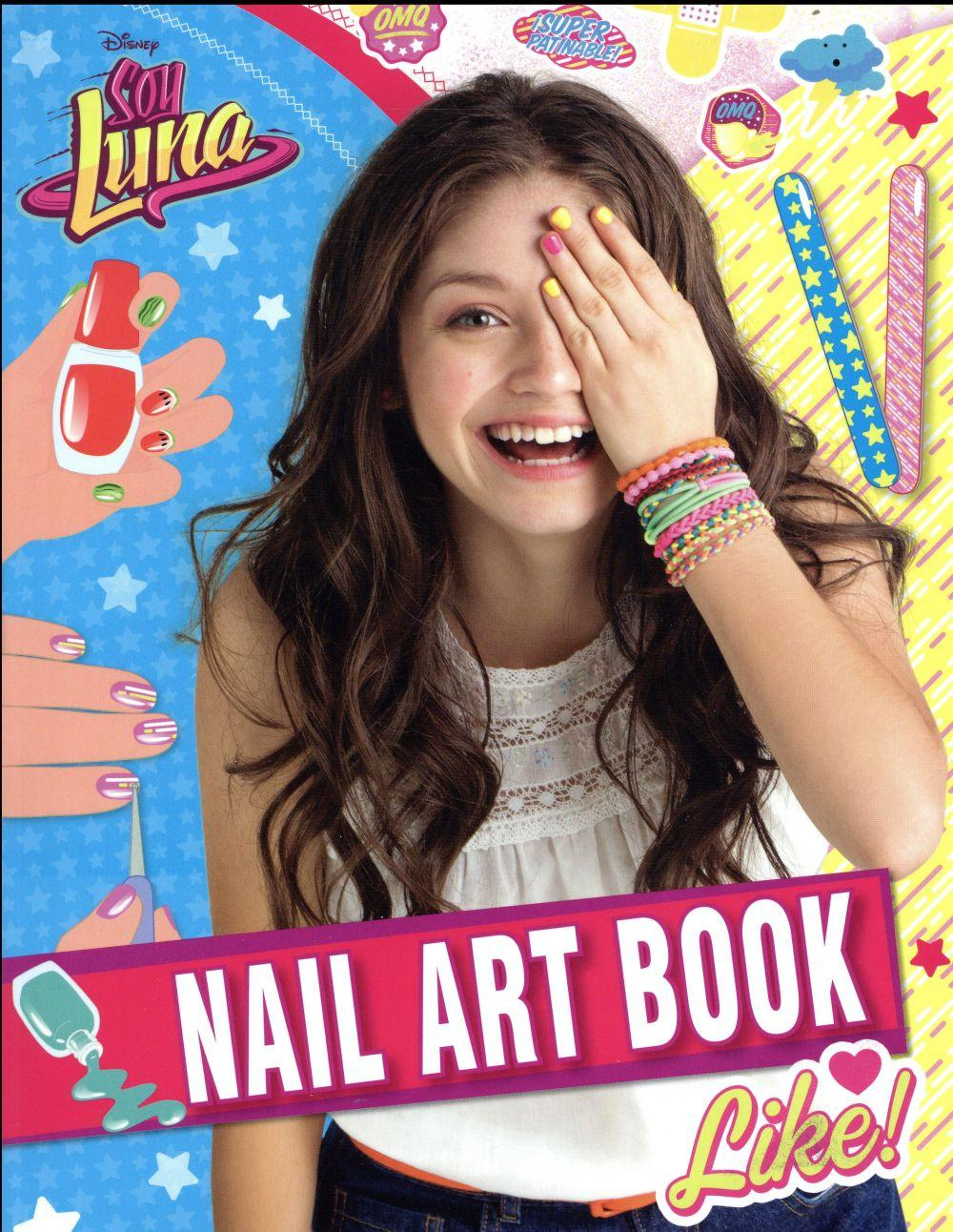 LUNA ; nail art book  - Collectif