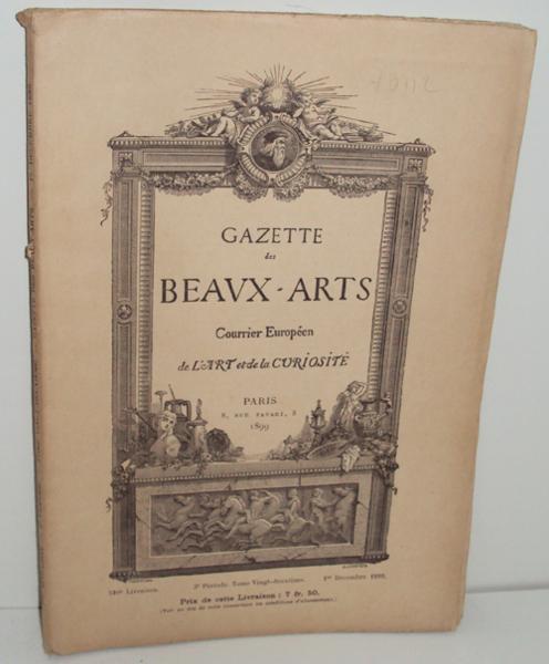 Livre gazette des beaux arts 510e livraison 1er - Livraison de livre ...