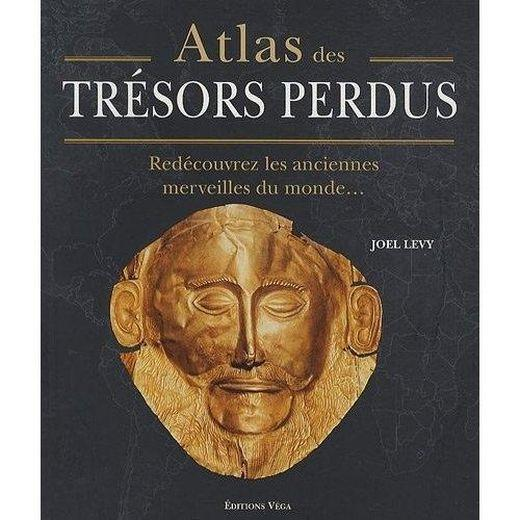 atlas des tr sors perdus red couvrez les anciennes merveilles du monde de joel levy livre. Black Bedroom Furniture Sets. Home Design Ideas