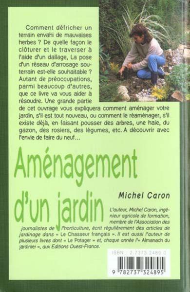 Livre am nagement d 39 un jardin michel caron acheter for Acheter un jardin