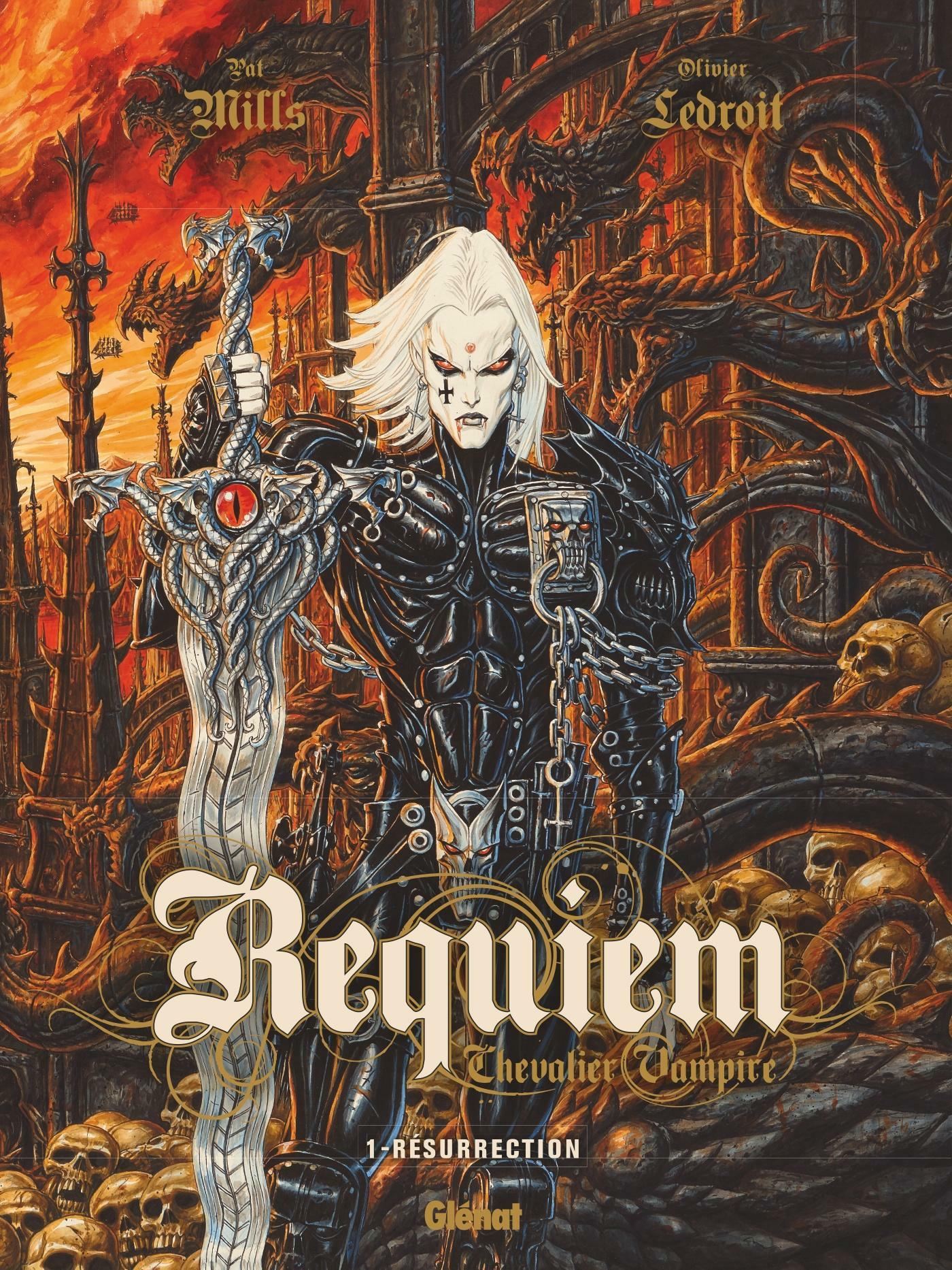 Requiem T.1 ; résurrection  - Pat Mills  - Olivier Ledroit