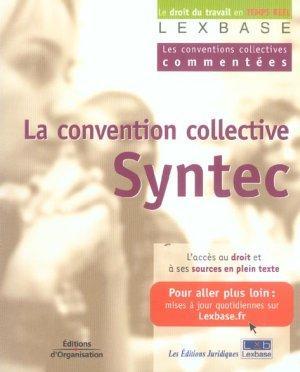 livre la convention collective syntec les conventions collectives commentees lexbase