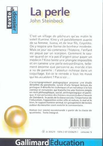 la perle john steinbeck pdf