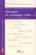 Revue Changement Social T.12 ; Itinéraires De Sociologues (Suite...)