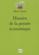 Histoire de la pensée économique (2e édition)