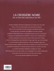 La Croisiere Noire - 4ème de couverture - Format classique