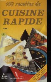 Cuisine rapide t.1 - Couverture - Format classique