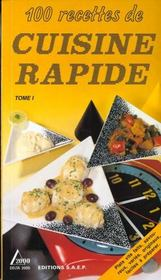 Cuisine rapide t.1 - Intérieur - Format classique